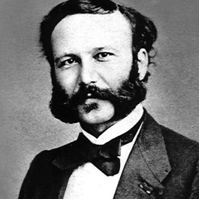 Ritratto di Henry Dunant, 1901